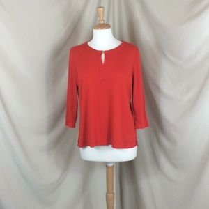 Talbots Long Sleeve Knit Shirt